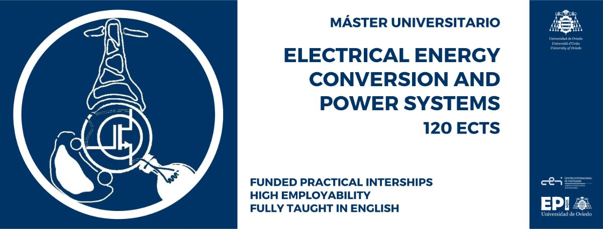 Máster Universitario en Electrical Energy Conversion and Power Systems