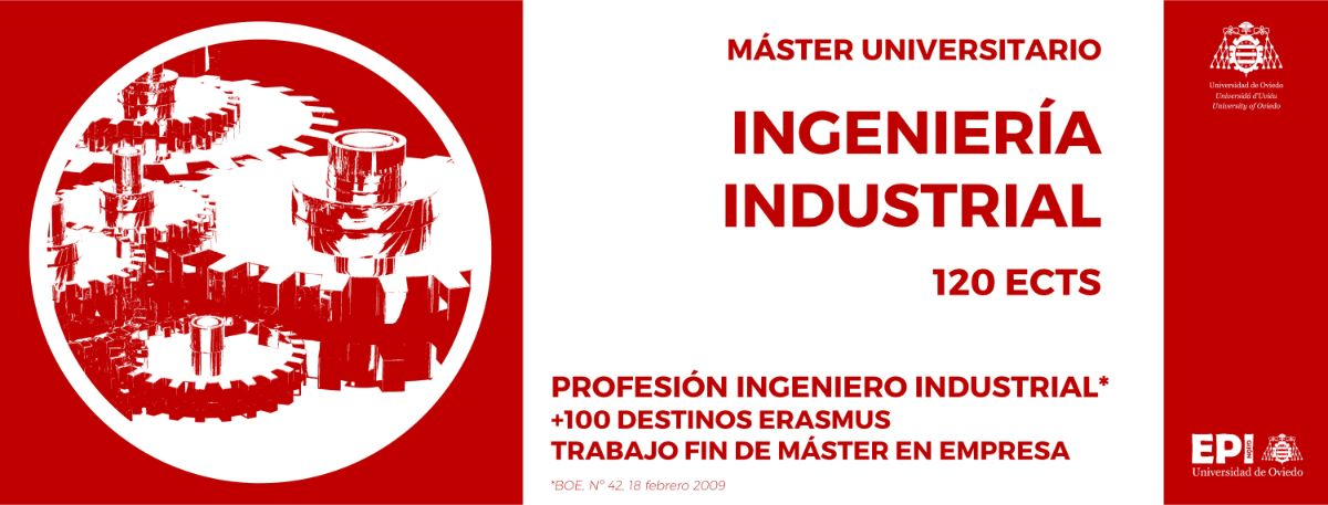 Máster Universitario en Ingeniería Industrial