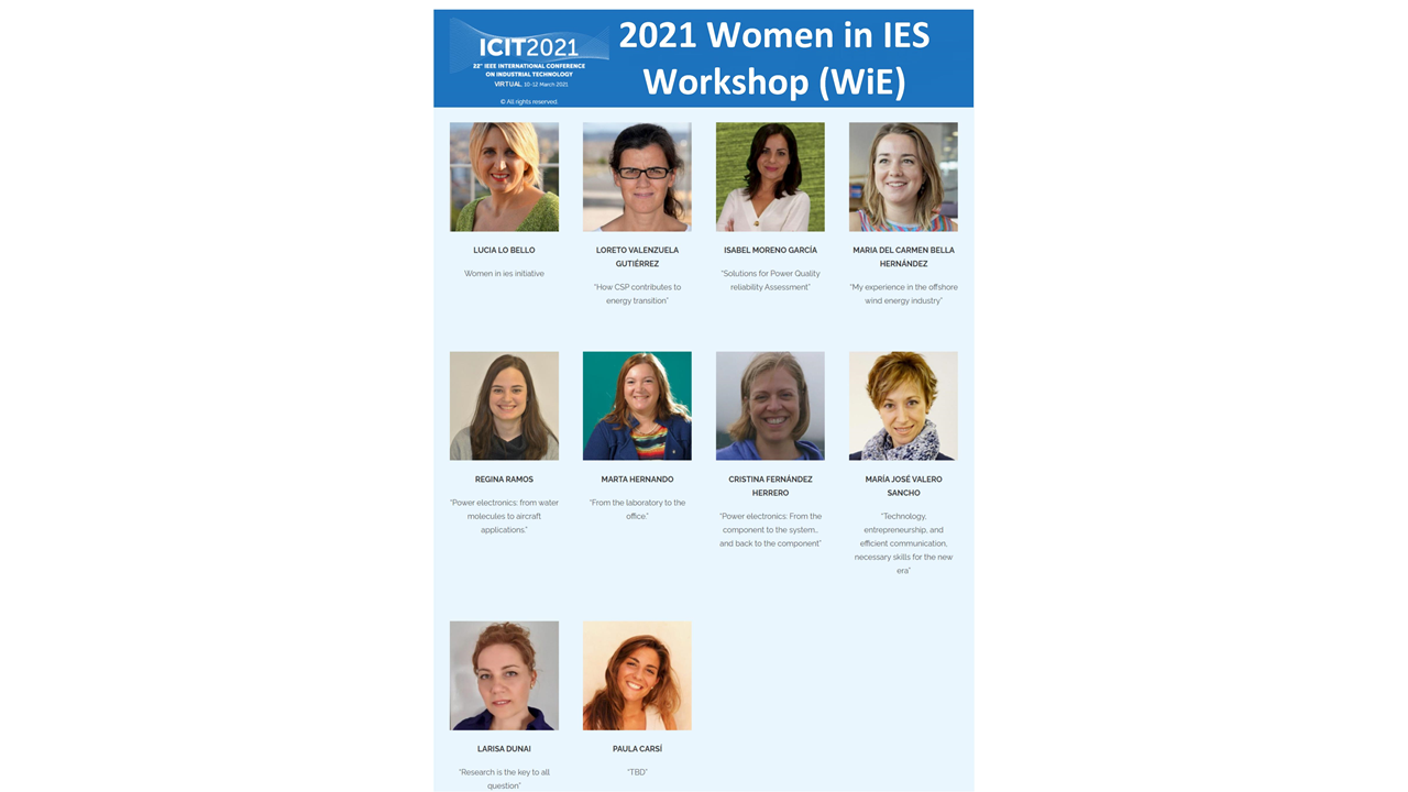 Cartel Women in IES Workshop